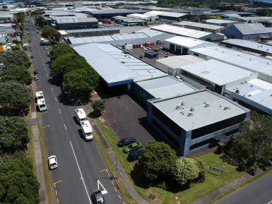 High Profile Corner Warehouse Property for Lease Mangere