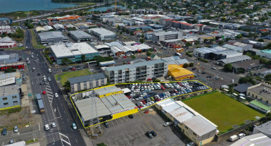 High Profile Yard and Workshop Property for Lease Onehunga Auckland