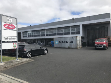 Racked Industrial Unit Property for Lease Wiri Auckland