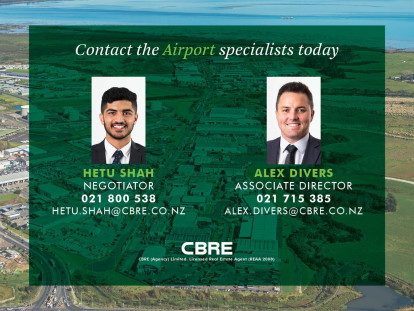 Warehouse with Airport Profile Property for Lease Mangere Auckland