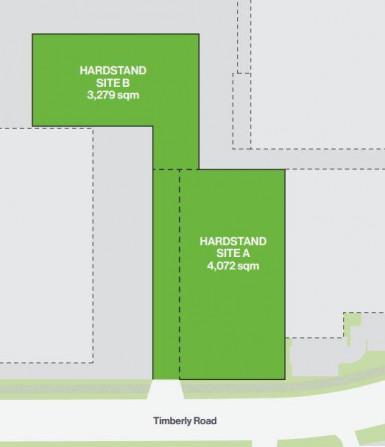 Prime & Secure Hardstand Yard Property for Lease Mangere Auckland