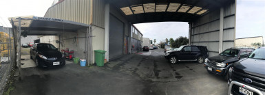 Secure Airport Industrial with Large Yard for Lease Mangere Auckland
