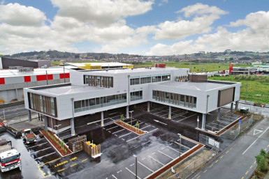 Ground Floor with High Exposure Offices for Lease Flat Bush Auckland