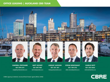 Top Floor Office Opportunity Property for Lease Auckland Central