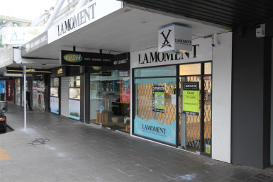 Open Plan Retail Property for Lease Newmarket Auckland