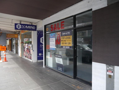 Prime Retail for Lease Newmarket Auckland