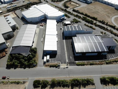Industrial Warehouse Property for Lease Rolleston Canterbury