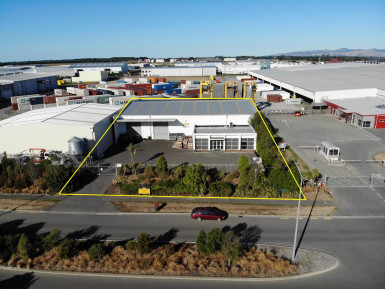 Warehouse with Office for Lease Rolleston Canterbury