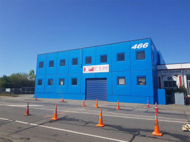 CBD Fringe Warehouse Facility Property for Lease Phillipstown Christchurch