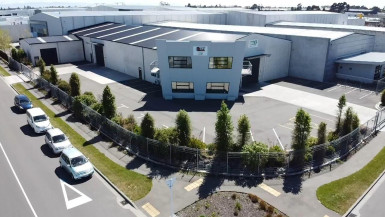 Dual Access Warehouse for Lease Wigram Christchurch