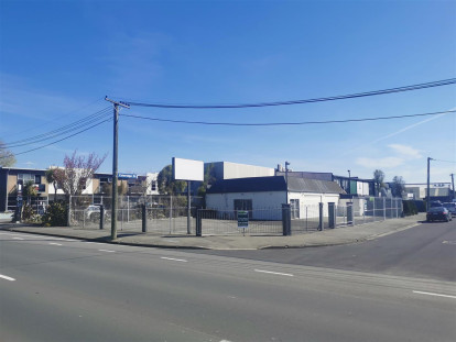 High Profile Industrial Property for Lease Sydenham Christchurch