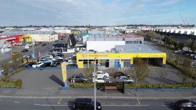 Industrial Warehouse Property for Lease Sydenham Christchurch
