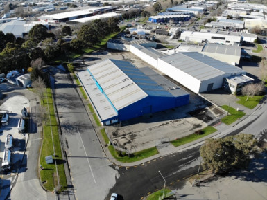 Industrial Warehouse Property for Lease Wigram Christchurch