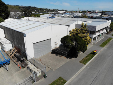 Large Factory Workshop Property for Lease Woolston Christchurch