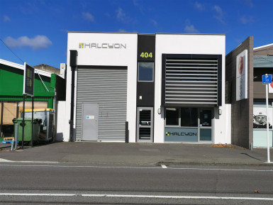 Modern CBD Fringe Warehouse for Lease Phillipstown Christchurch
