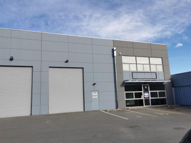 Northern Industrial Warehouse for Lease Casebrook Christchurch