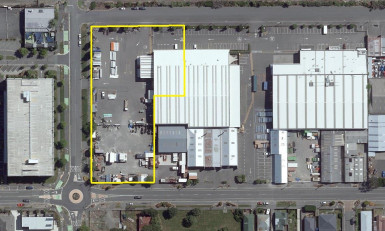 Office Warehouse and Large Yard Property for Lease Addington Christchurch