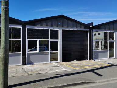 Storage or Workshop Property for Lease Sydenham Christchurch