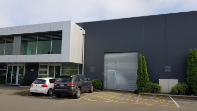 Modern Industrial Warehouse with Office Property for Lease Riccarton Christchurch