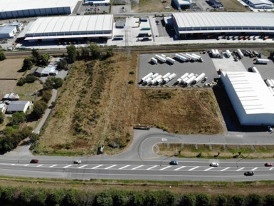 Large Industrial Zone Development Property for Lease Islington Christchurch