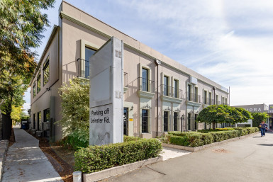 Beautiful Character Offices Property for Lease Merivale Christchurch