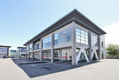Newly Refurbished Office Building Property for Lease Riccarton Christchurch