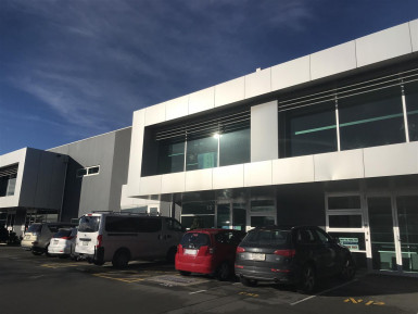 Offices with Onsite Parking Property for Lease Riccarton Christchurch