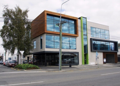 Profile Retail and Offices with Parking for Lease Christchurch Central