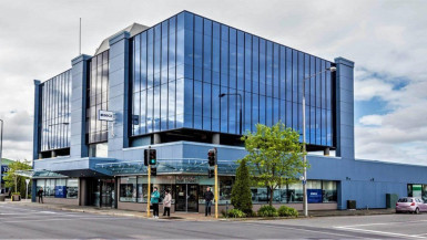 Corner Profile Retail Property for Lease Sydenham Christchurch