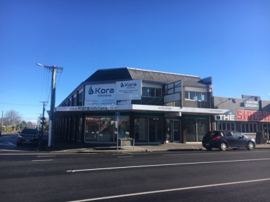 Corner Profile Showroom for Lease Richmond Christchurch