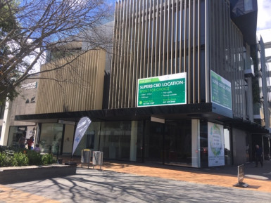 Prime Retail Property for Lease Central Christchurch