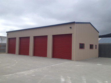 Brand Spanking New Workshop  	 Property for Lease Kenepuru Wellington