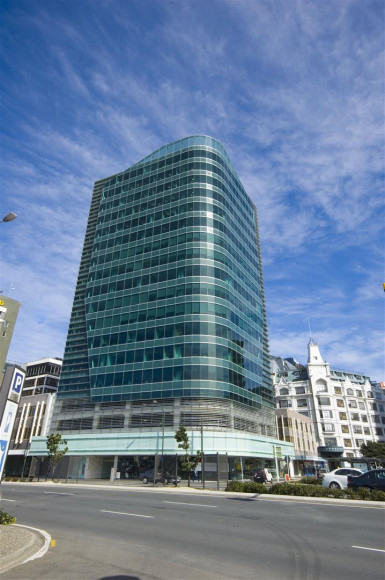 Maritime Tower Office Space Property for Lease Wellington Central