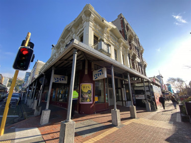 Cuba Corner Retail for Lease Te Aro Wellington