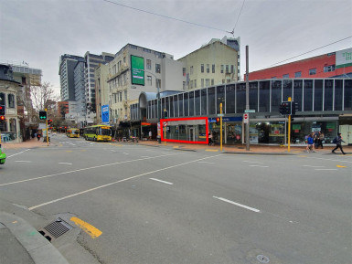 Highly Visable Retail Property for Lease Te Aro Wellington