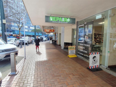 Retail on Lambton Quay Property for Lease Wellington Central
