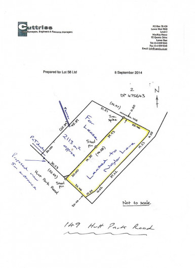 Land Property for Lease Gracefield Wellington