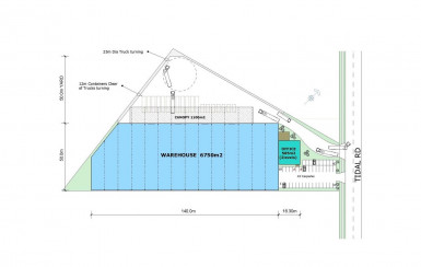 New Build Warehouse Property for Sale Mangere Auckland