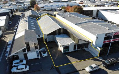 Industrial Warehouse with Office Property for Sale Christchurch Central