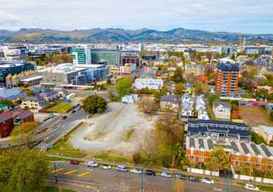 Land Development Site Property for Sale Christchurch Central