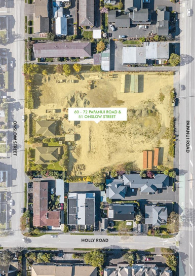 Prime Merivale St Albans Development Site Property for Sale Christchurch
