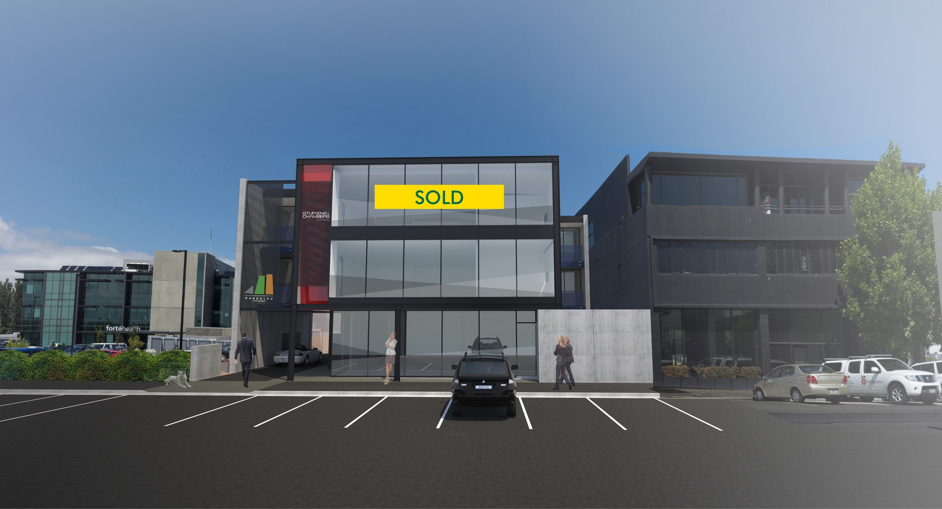 New Office and Retail  for Sale Christchurch
