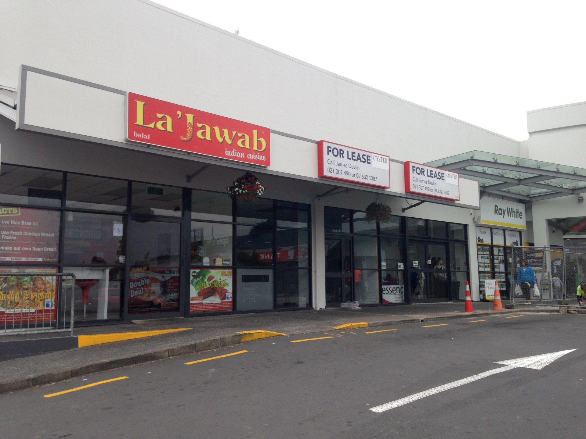 Great corner exposure Retail  for Lease Kelston Auckland