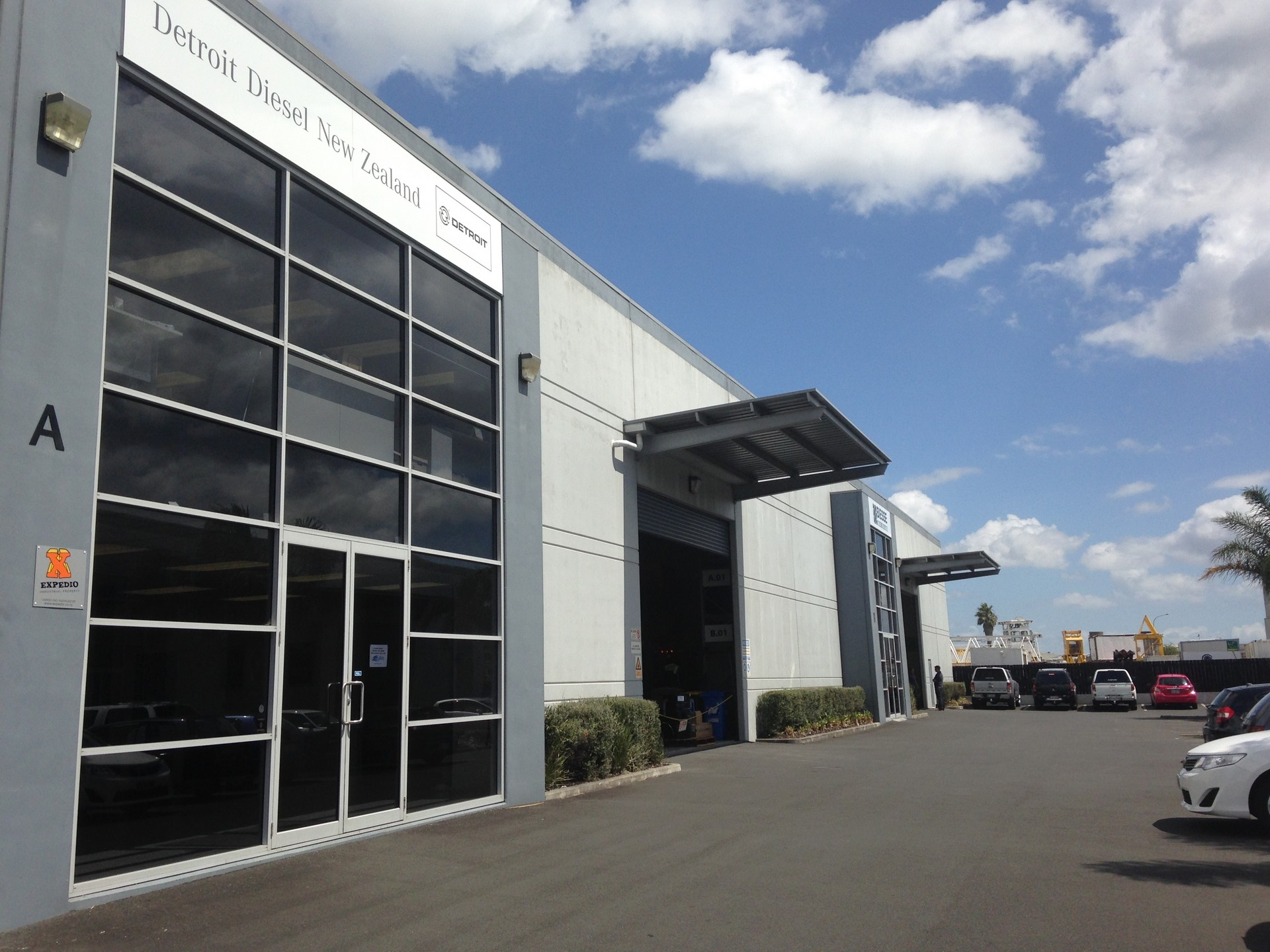 Modern Industrial Warehouse  for Lease Wiri Auckland