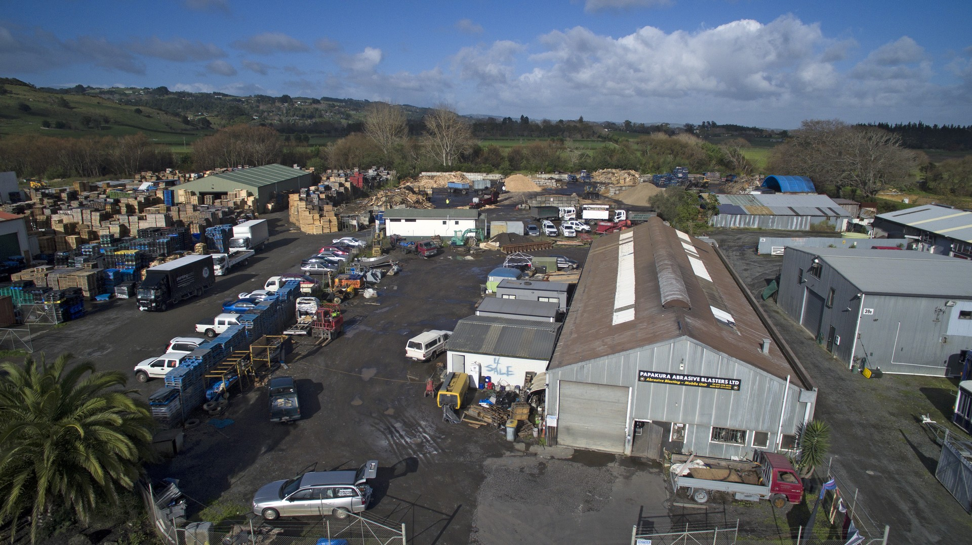 Development Land Yard and Workshop  for Sale Papakura Auckland