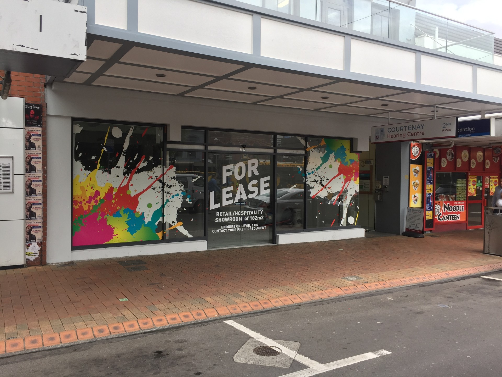 Well Presented Retail Space  for Lease Te Aro Wellington