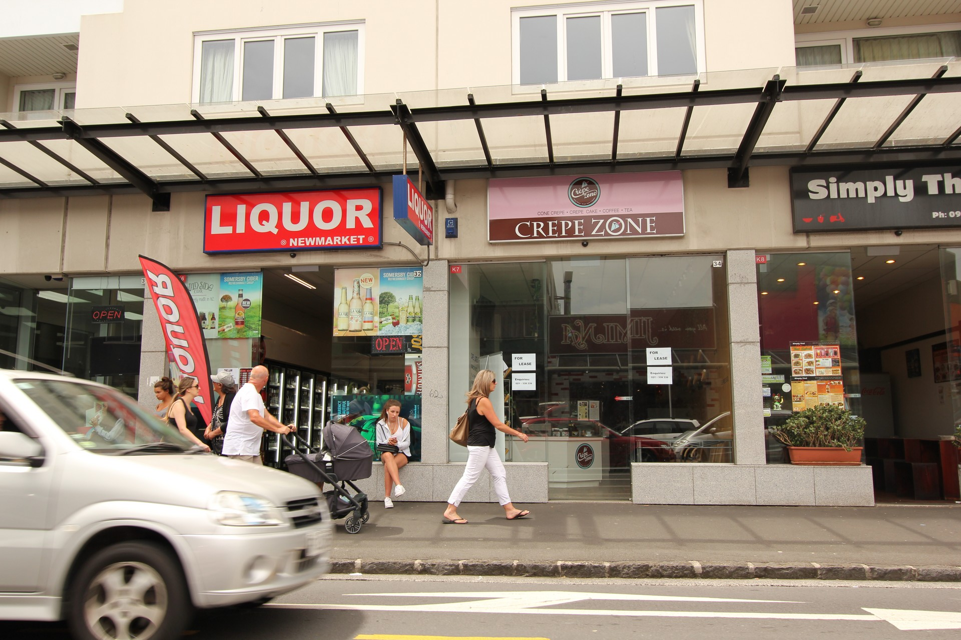 Newmarket Retail With Frontage  for Lease Auckland