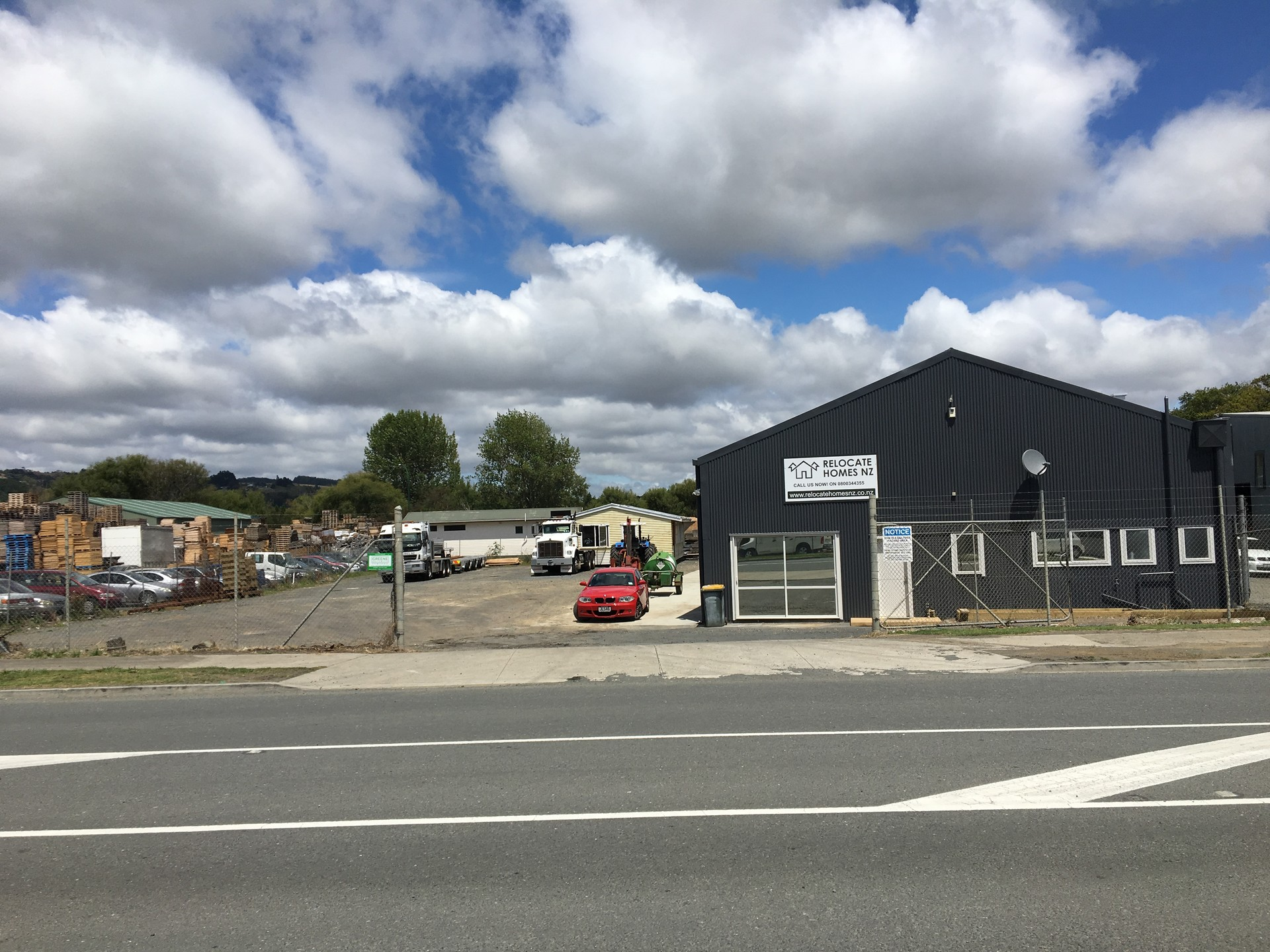Yard and Workshop  for Sale Papakura Auckland