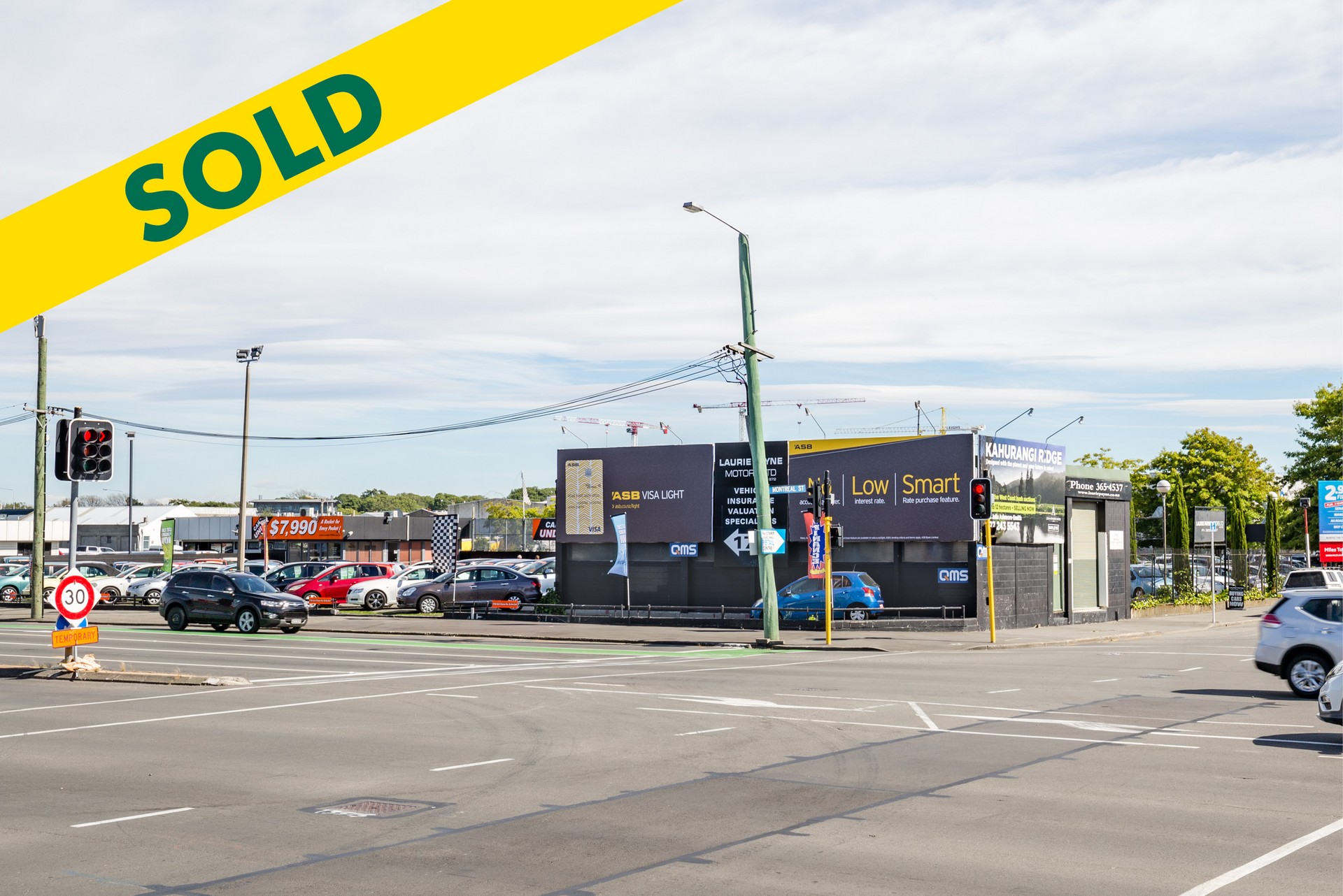 High Profile Development Land  for Sale Christchurch Central