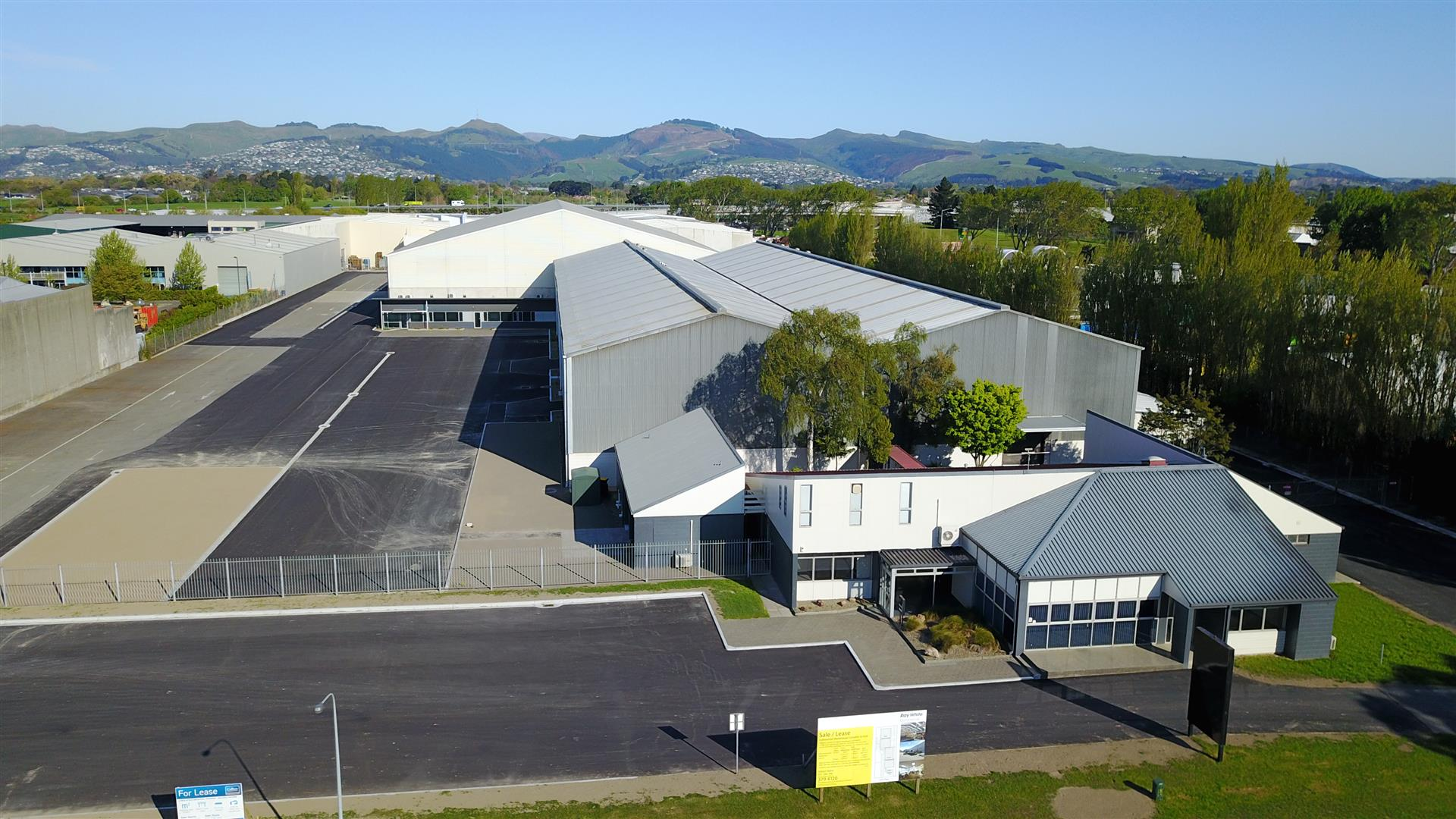 New Warehouses  for Lease Middleton Christchurch